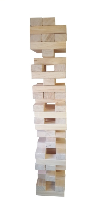 new white jenga